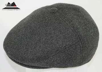 تولیدی کلاه قاسمی-کلاه کپ ترکیه ای طوسی(زمستانی)
