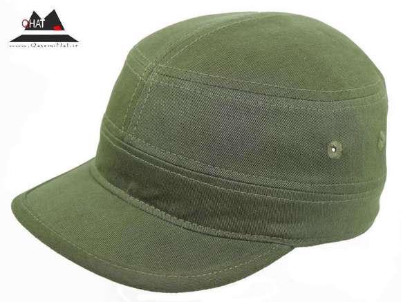 تولیدی کلاه قاسمی-کلاه کپ کوبایی(سبز)